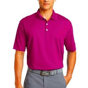 Nike Golf Tour Performance Pink Polo Shirt XL